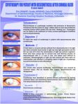Cryotherapy For Patient With Descemetocele After Corneal Ulcer